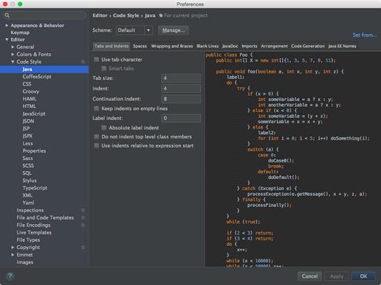 IDEA与Eclipse代码格式