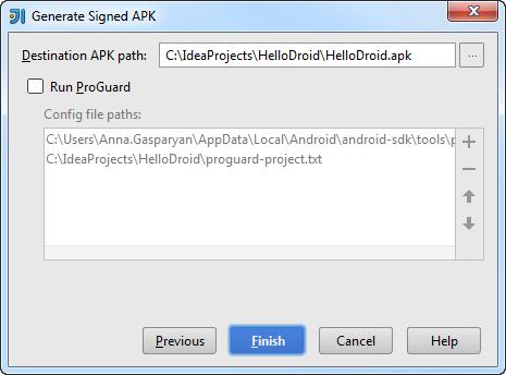 打包Android应用程序