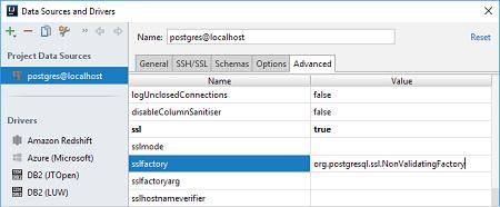 连接PostgreSQL数据库