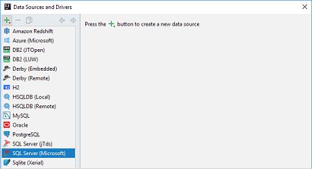 连接Microsoft SQL Server