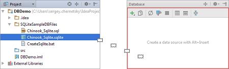 IntelliJ IDEA管理数据源