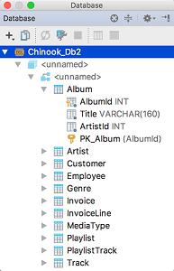 IntelliJ IDEA数据库工具窗口