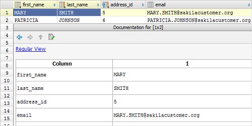 IntelliJ IDEA数据库:使用查询结果