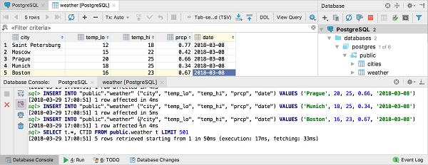 IntelliJ IDEA使用数据编辑器