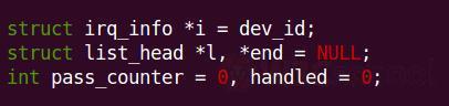 Linux变量命名