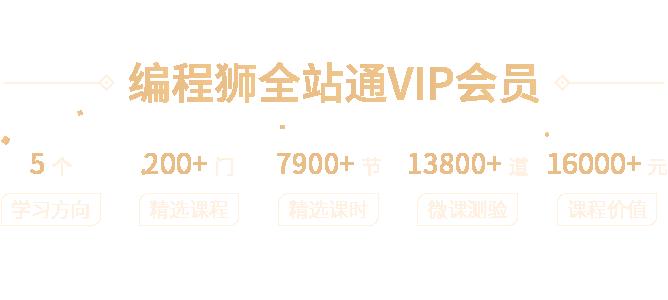 VIP页banner