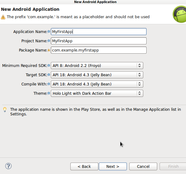 2.3android_new_application