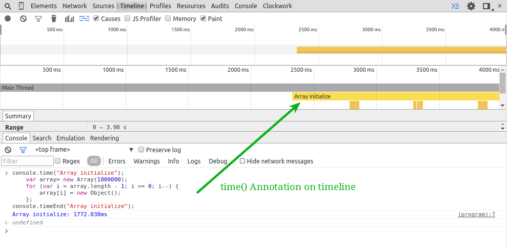 time-annotation-on-timeline
