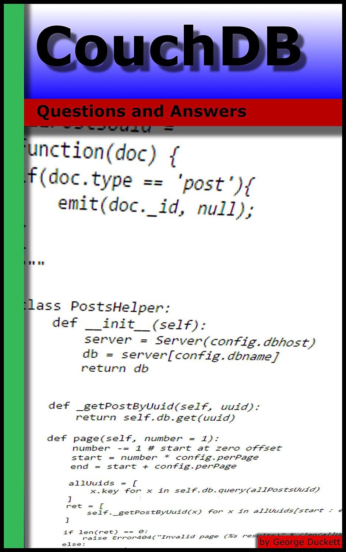 CouchDB的:问题与解答
