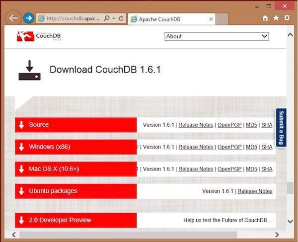 CouchDB的格式