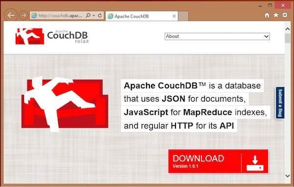 下载的CouchDB