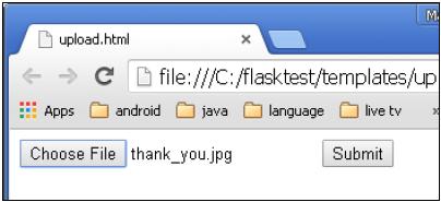 Flask File Uploading