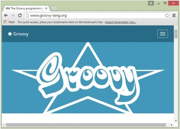 Groovy的官方网站
