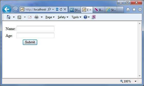 电子邮件用户输入