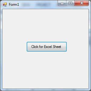 VB.Net Excel的实例