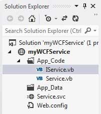 WCF服务实例